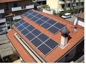 Impianto Fotovoltaico residenziale soluzione monocristallina pannello solsonica 250Wp