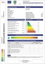 Certificazione Energetica ACE - Modulo di Certificazione Energetica ACE-CENED