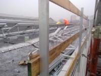 Istantanea di un giorno di lavoro sul tetto