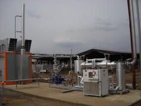 Sezione Trattamento Impianto Biogas